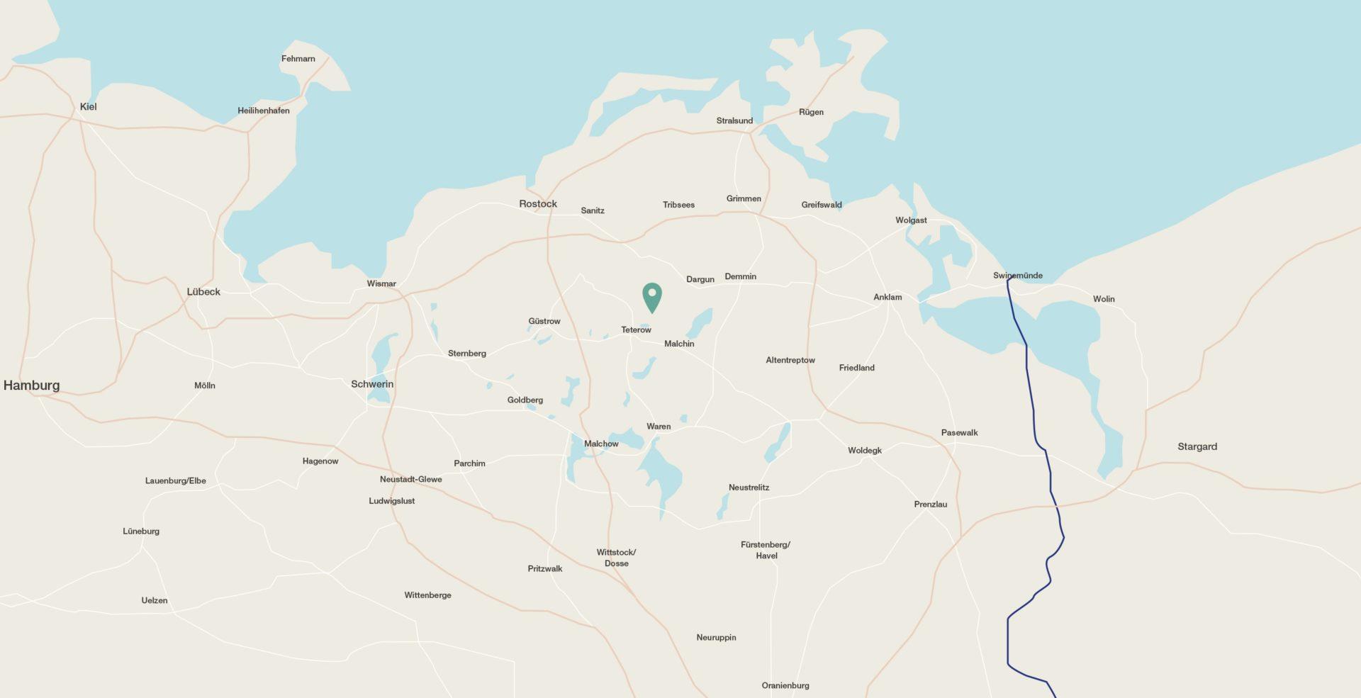 Karte Gut Pohnstorf