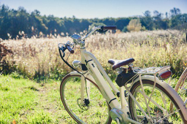 E-Bike, weiß, klassisch Florian Foest
