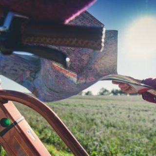 Anreise mit dem Rad