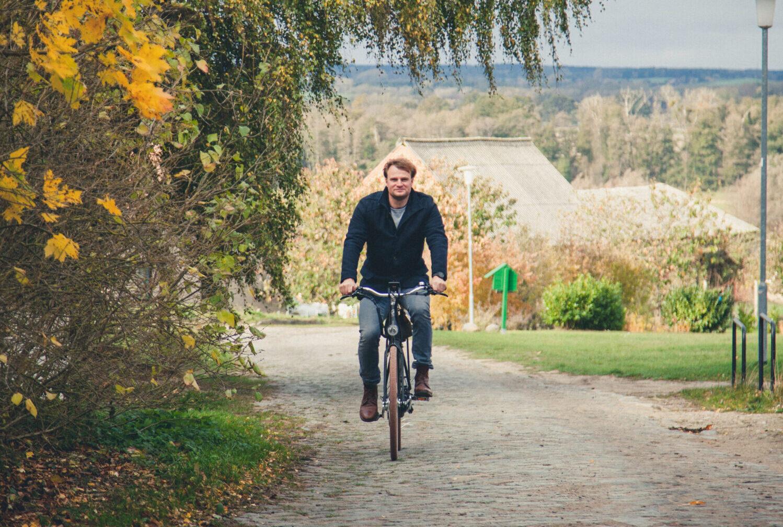 Radfahrer auf E-Bike Florian Foest